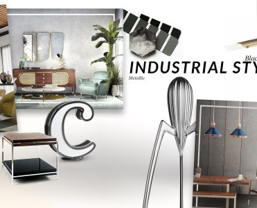 How Industrial Style Trend Gives You The Most Luxurious House Ever industrial style trend How Industrial Style Trend Gives You The Most Luxurious House Ever moodboard collection insdustrial style interior decor trend for 2019 10 371x300