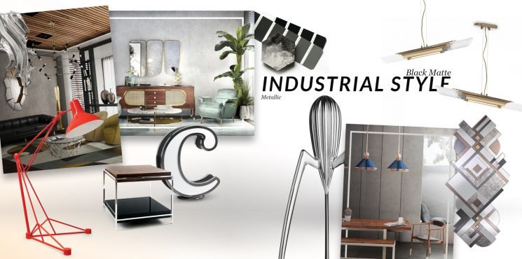 How Industrial Style Trend Gives You The Most Luxurious House Ever industrial style trend How Industrial Style Trend Gives You The Most Luxurious House Ever moodboard collection insdustrial style interior decor trend for 2019 10 745x370