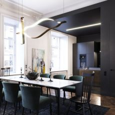 Dmitry Grinevich And His Amazing Design On A Paris Apartment dmitry grynevich Dmitry Grynevich And His Amazing Design On A Paris Apartment Apartment in Rouen Dmitry Grinevich Dmitry Grinevich 4 230x230