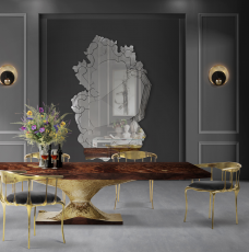 Discover The Ultimate Pieces For An Exquisite Dining Room dining room Discover The Ultimate Pieces For An Exquisite Dining Room metamorphosis dining table ambience 228x230