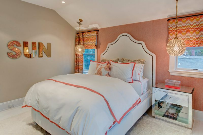 Discover The Peaceful Southampton Village Created By Amy Hill Designs amy hill designs Discover The Peaceful Southampton Village Created By Amy Hill Designs Halsey Guest BR 2 View 1 1024x683 e1559746339709