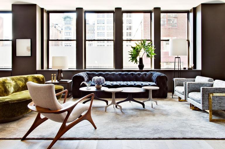 Top 20 NYC Interior Designers interior designers Top 20 NYC Interior Designers Shamir Shah Design 2