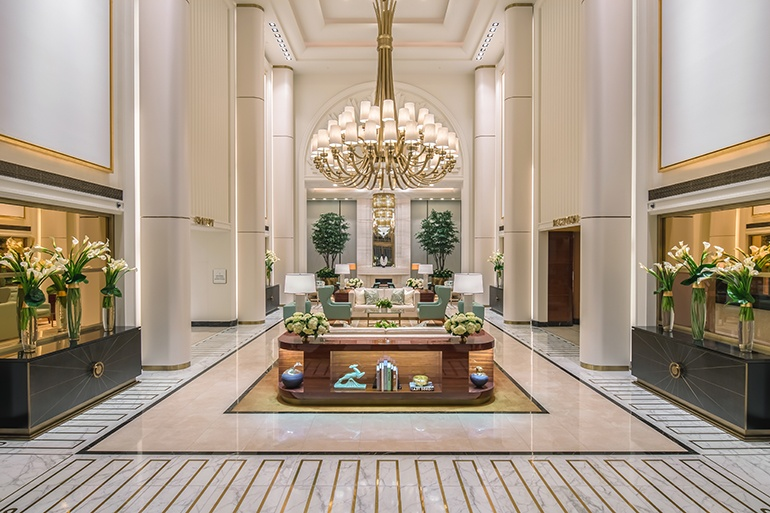 Discover The Top French Interior Designers - Part III french interior designers Discover The Top French Interior Designers  – Part III thumbs pierre yves rochon waldorf astoria beverly hills lobby 02