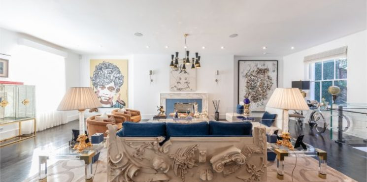 Fall In Love With This Harmonious Residence In London By Laith Abdel Hadi