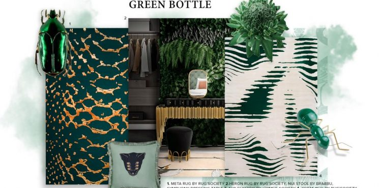 Bring Nature Into Your Home Decor With Bottle Green bottle green Bring Nature Into Your Home Decor With Bottle Green bring nature home decor bottle green 1 745x370