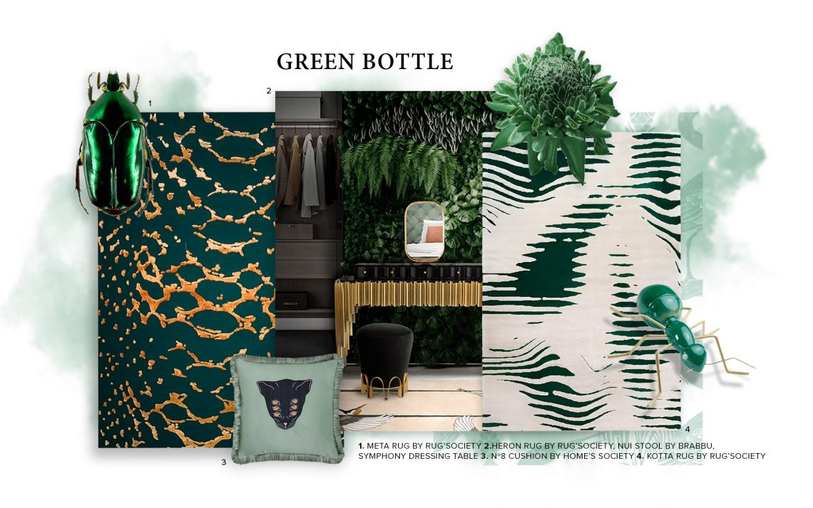 Bring Nature Into Your Home Decor With Bottle Green bottle green Bring Nature Into Your Home Decor With Bottle Green bring nature home decor bottle green 1