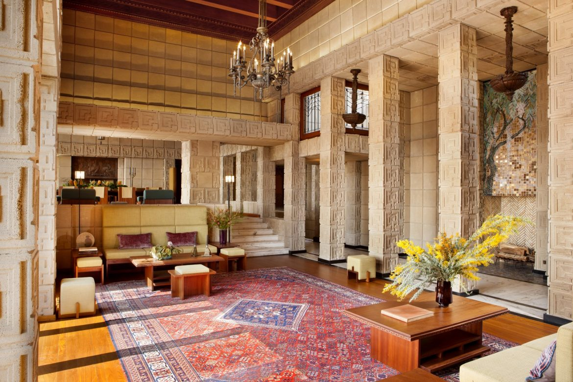 Frank Lloyd Wright's Ennis House Has Been Sold frank lloyd wright Frank Lloyd Wright's Ennis House Has Been Sold frank lloyd wrights ennis house sold 2
