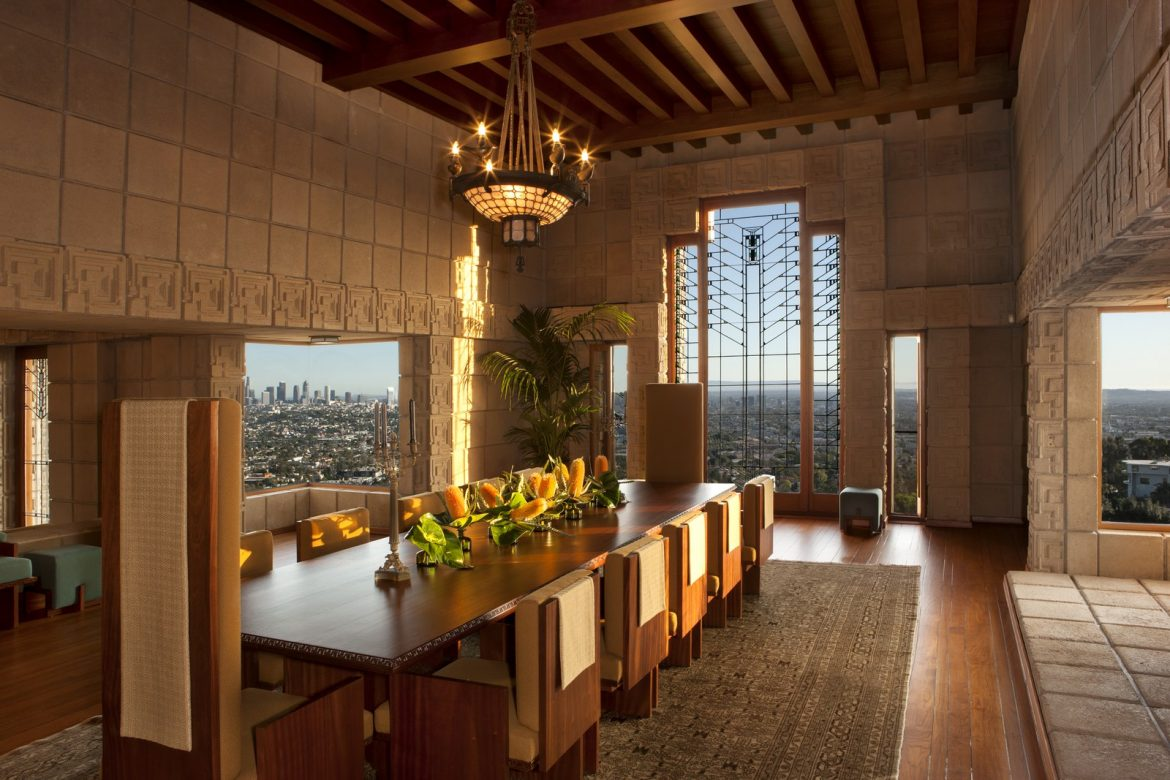 Frank Lloyd Wright's Ennis House Has Been Sold frank lloyd wright Frank Lloyd Wright's Ennis House Has Been Sold frank lloyd wrights ennis house sold 3