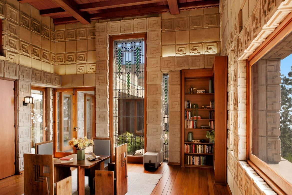 frank lloyd wright Frank Lloyd Wright's Ennis House Has Been Sold frank lloyd wrights ennis house sold 4