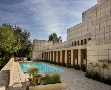 Frank Lloyd Wright's Ennis House Has Been Sold frank lloyd wright Frank Lloyd Wright's Ennis House Has Been Sold frank lloyd wrights ennis house sold 5 371x300