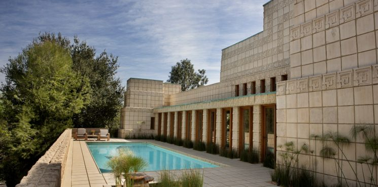 Frank Lloyd Wright's Ennis House Has Been Sold frank lloyd wright Frank Lloyd Wright's Ennis House Has Been Sold frank lloyd wrights ennis house sold 5 745x370