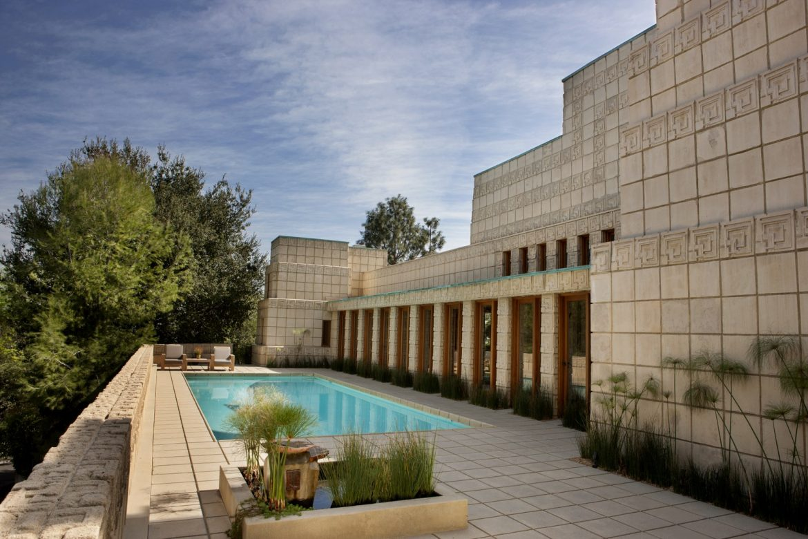Frank Lloyd Wright's Ennis House Has Been Sold frank lloyd wright Frank Lloyd Wright's Ennis House Has Been Sold frank lloyd wrights ennis house sold 5