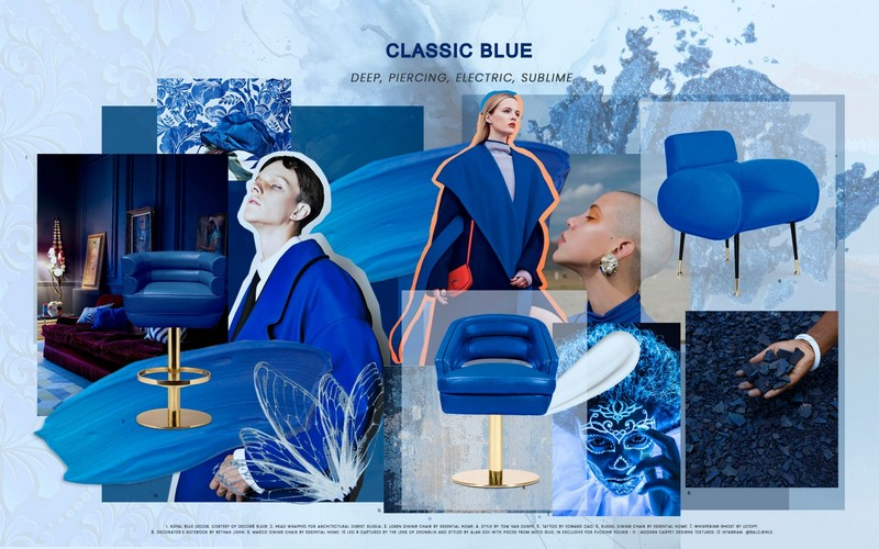 Interior Design Ideas With Classic Blue, Pantone's Color Of The Year 2020 color of the year 2020 Interior Design Ideas With Classic Blue, Pantone's Color Of The Year 2020 interior design ideas classic blue pantones color year 2020 2