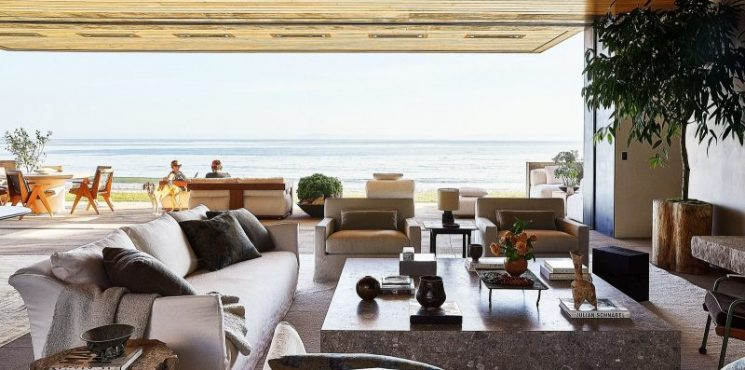 Fall In Love With Calvin Klein's Co-Founder Santa Barbara Home calvin klein Fall In Love With Calvin Klein's Co-Founder Santa Barbara Home fall love calvin kleins co founder santa barbara home 3 745x370