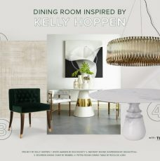 Admire This Dining Room Inspired By Kelly Hoppen's Style
