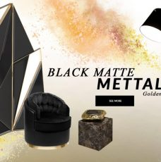 Design Trends 2020: Black Matte Mettalic With A Golden Touch black matte mettalic Design Trends 2020: Black Matte Mettalic With A Golden Touch design trends 2020 black matte mettalic golden touch 1 228x230