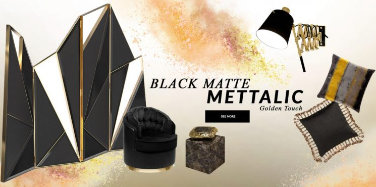 Design Trends 2020: Black Matte Mettalic With A Golden Touch black matte mettalic Design Trends 2020: Black Matte Mettalic With A Golden Touch design trends 2020 black matte mettalic golden touch 1 745x370
