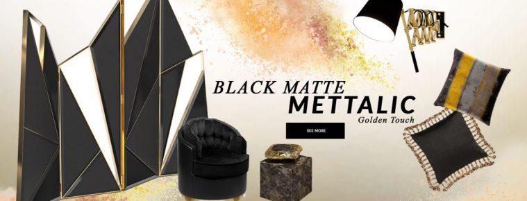 Design Trends 2020: Black Matte Mettalic With A Golden Touch black matte mettalic Design Trends 2020: Black Matte Mettalic With A Golden Touch design trends 2020 black matte mettalic golden touch 1 759x290