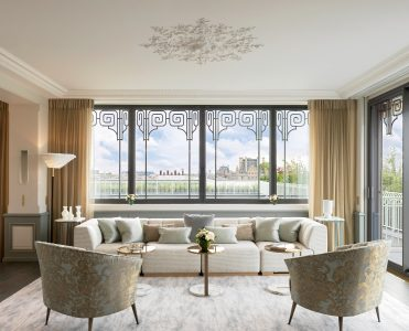 Discover An amazing Suite At Hotel Le Meurice Designed By Lally And Berger