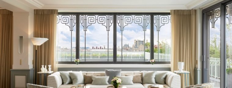 Discover An amazing Suite At Hotel Le Meurice Designed By Lally And Berger lally and berger Discover An amazing Suite At Hotel Le Meurice Designed By Lally And Berger discover amazing suite hotel meurice designed lally berger 3 759x290