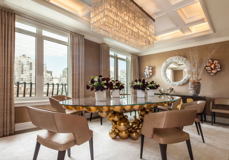 Stepping Inside A Luxury Penthouse In NYC