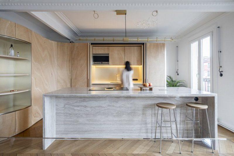 Admire This Apartment In Paris By Toledano + Architects toledano + architects Admire This Apartment In Paris By Toledano + Architects admire apartment paris toledano architects 2