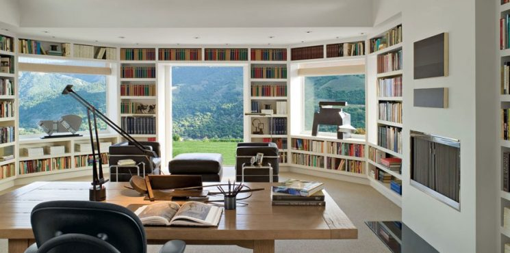 Home Library Ideas For Your Expensive Home  [object object] Home Library Ideas For Your Expensive Home  home library ideas expensive home 1 745x370