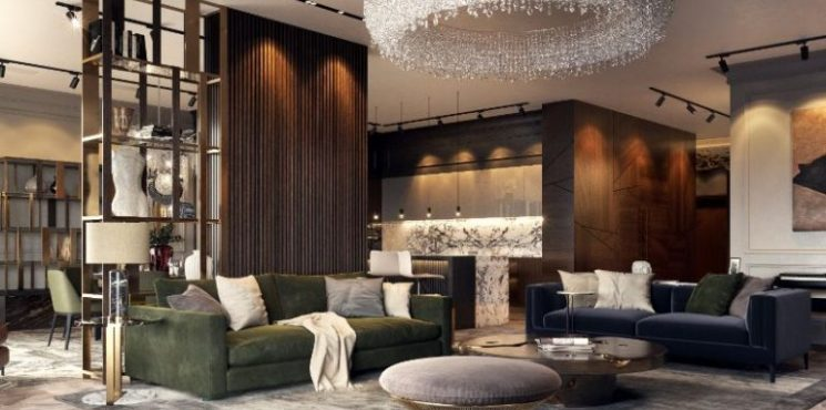 Inside An Luxury Apartment In Russia Designed By Studia-54 studia-54  Inside An Luxury Apartment In Russia Designed By Studia-54 inside luxury apartment russia designed studia 54 1 745x370