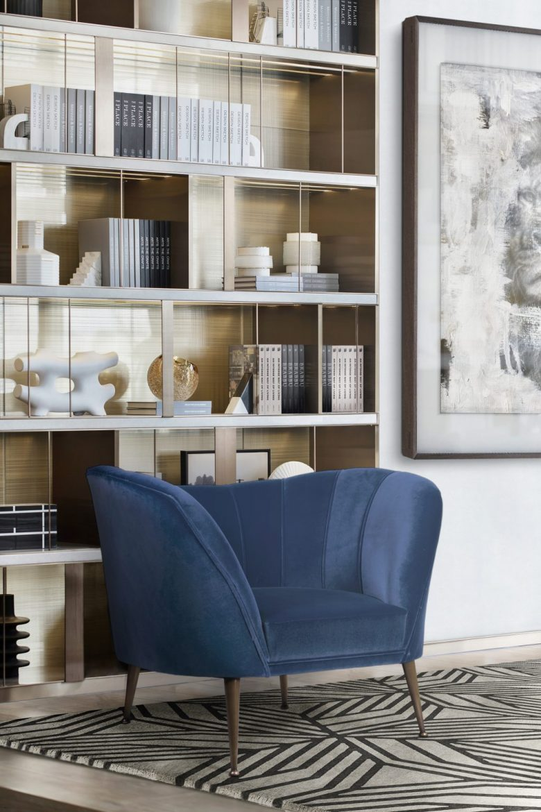 Introduce Classic Blue Into Your Home Decor With These Amazing Armchairs  classic blue Introduce Classic Blue Into Your Home Decor With These Amazing Armchairs  introduce classic blue home decor amazing armchairs 2 scaled