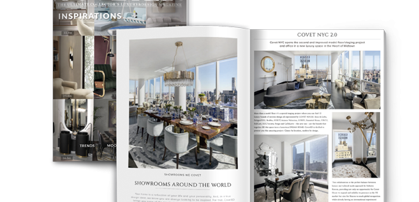 CovetED Magazine: A World Of Inspiration