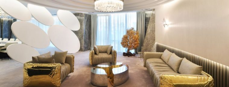 Fall In Love With Sicilia Shine's Office Design Project sicilia shine Fall In Love With Sicilia Shine's Office Design Project BOCA DO LOBO A Golden And Imposing Office Design By 759x290