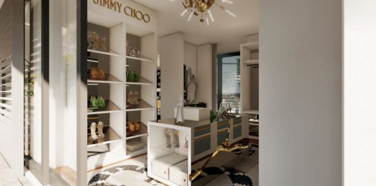 Luxury Walk-In Closet: A Partnership Between Jimmy Choo And Boca do Lobo jimmy choo Luxury Walk-In Closet: A Partnership Between Jimmy Choo And Boca do Lobo luxury walk in closet partnership jimmy choo boca lobo 1 745x370