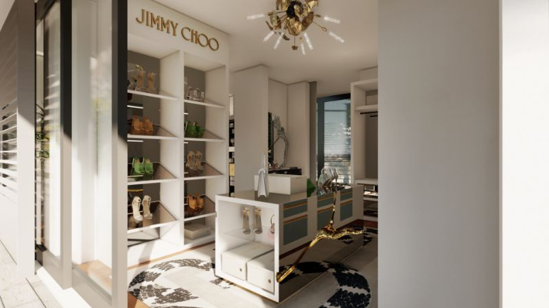 jimmy choo Luxury Walk-In Closet: A Partnership Between Jimmy Choo And Boca do Lobo luxury walk in closet partnership jimmy choo boca lobo 1