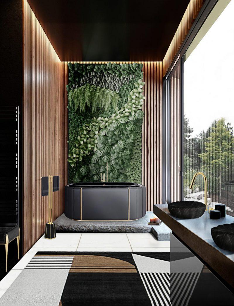 wooden bathroom Stylish Wooden Bathroom Designs That You Need Right Now! Stylish Wooden Bathroom Designs That You Need Right Now3 e1603729862617