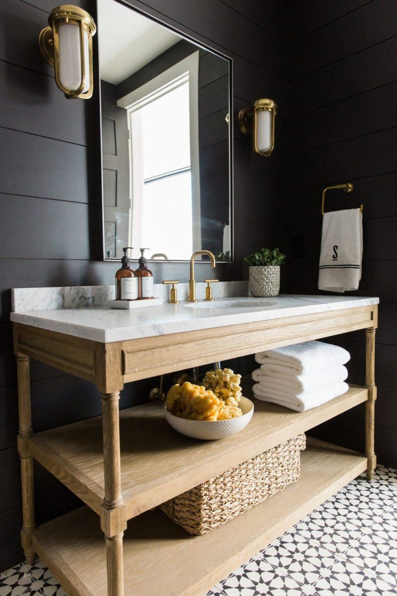 wooden bathroom Stylish Wooden Bathroom Designs That You Need Right Now! Stylish Wooden Bathroom Designs That You Need Right Now5 e1603729921537