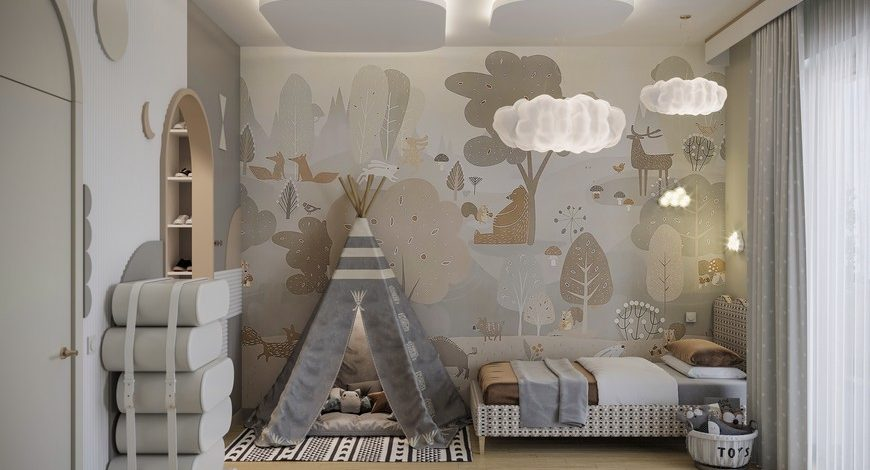 wide design group Wide Design Group Designs A Dreamy Kids' Bedroom! Wide Design Group Designs A Dreamy Kids Bedroom 870x470