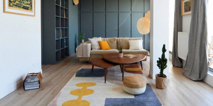 Best Interior Design Projects in Toulouse best Best Interior Design Projects in Toulouse Renovation of a 70s apartment 745x370