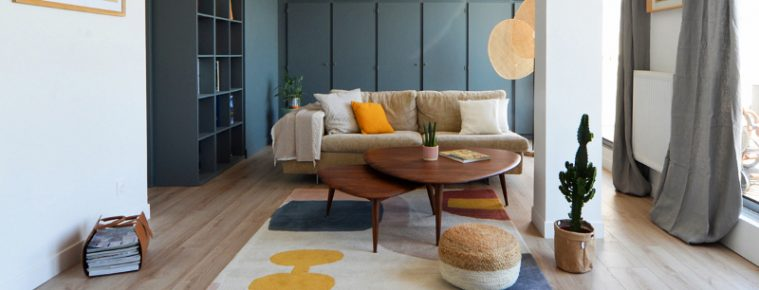 Best Interior Design Projects in Toulouse best Best Interior Design Projects in Toulouse Renovation of a 70s apartment 759x290