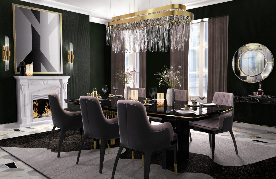 5 Gorgeous Dining Room Design Trends That You Simply Can Not Miss dining room design 5 Gorgeous Dining Room Design Trends That You Can Not Miss charla dining chair cover 02