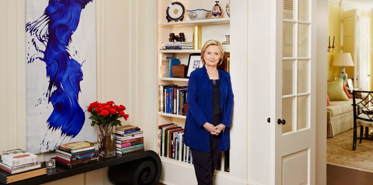 Take a look at Bill and Hillary Clinton's home