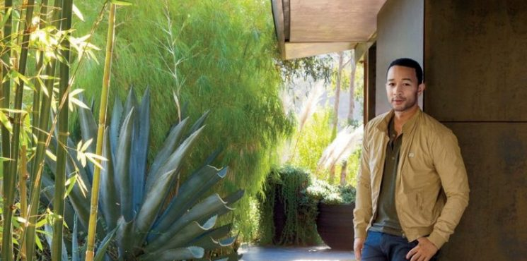 Get A Glimpse At The Brand New Home Of John Legend And Chrissy Teigen!