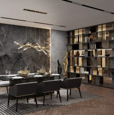 10 Ideas For A Modern Luxury Dining Room