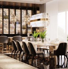 10 Ideas For AModern Luxury Dining Room