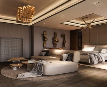 Bold and LuxuryFurniture Reign In This Home Design By KKD.Studio